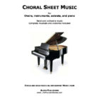 Abide free lds choir sheet music hymn arrangements